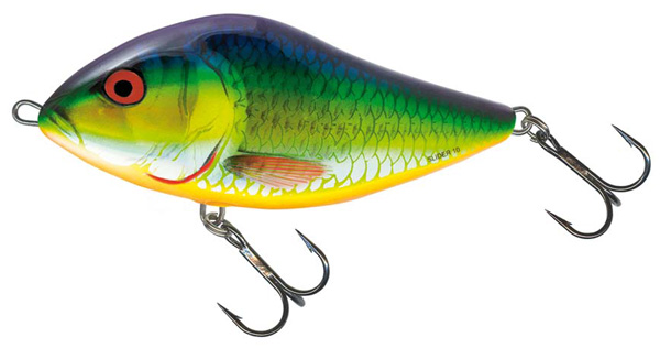 Salmo Slider 12cm Floating (keuze uit 3 opties) - Holographic Psychedelic Roach (HPR)