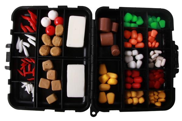 Ultimate Klone Bait Box met 160 stuks imitatie-aas