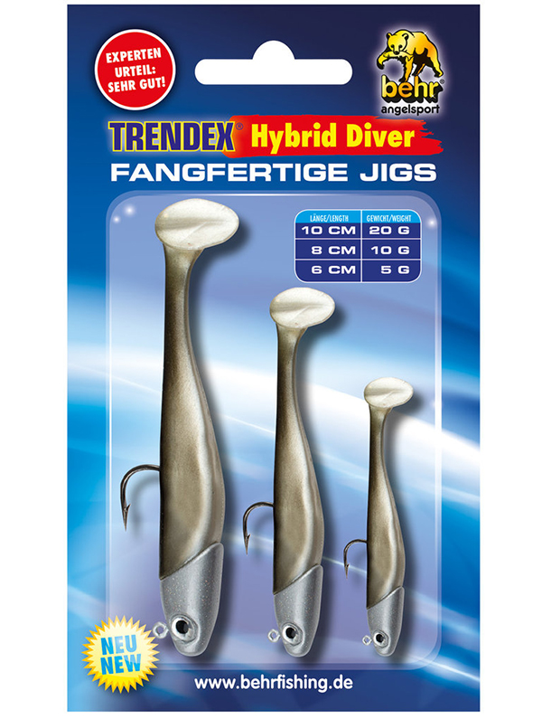 Behr Trendex Hybrid Diver Set (keuze uit 5 verschillende kleuren) - Behr Trendex Hybrid Diver Set 3