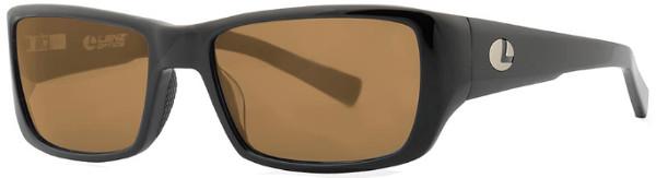 Lenz Optics Kaitum Polarised Sunglasses (keuze uit 4 opties) - Black w/Brown Lens