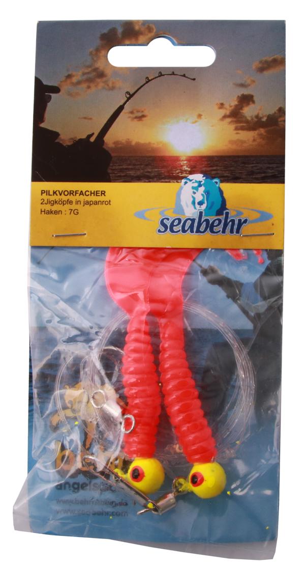 Seabehr Jighead Pilk System (keuze uit 2 opties) - Red/Red