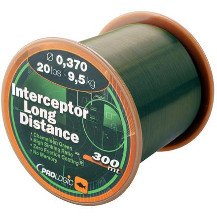 Prologic Interceptor Long Distance 300m 11lbs 5.50kg 0.25mm Green