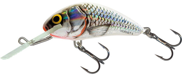 Salmo Hornet 5cm Floating (keuze uit 5 opties) - Silver White Shad (SWS)