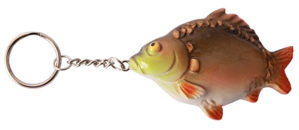 Real Trophy Sleutelhanger (keuze uit 7 vissoorten) - Mirror Carp
