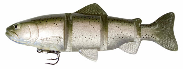 "Castaic Catch22 10"" Trout (keuze uit 4 opties) - Ghost Rainbow"