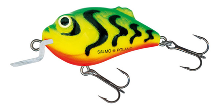 Salmo Boxer 4,5cm Green Tiger (keuze uit 2 opties)