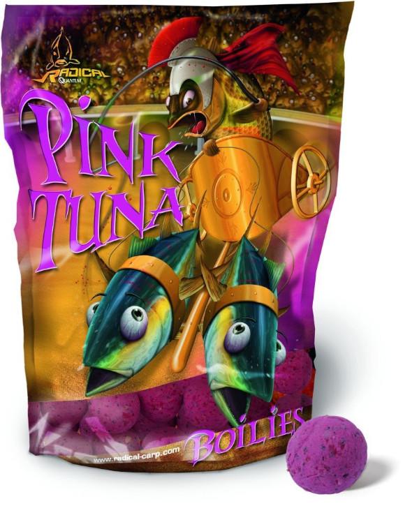 1kg Radical Pink Tuna Boilies (Keuze uit 2 opties)