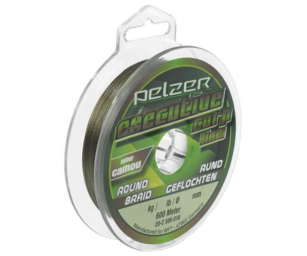 Pelzer Exe Carp Braid Camou 600m + Rapala Braid Scissors (keuze uit 2 opties)