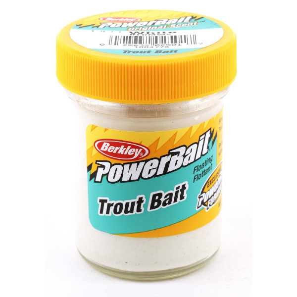 Berkley Powerbait Biodegradable Trout Bait (Keuze uit 7 opties) - Marshmellow
