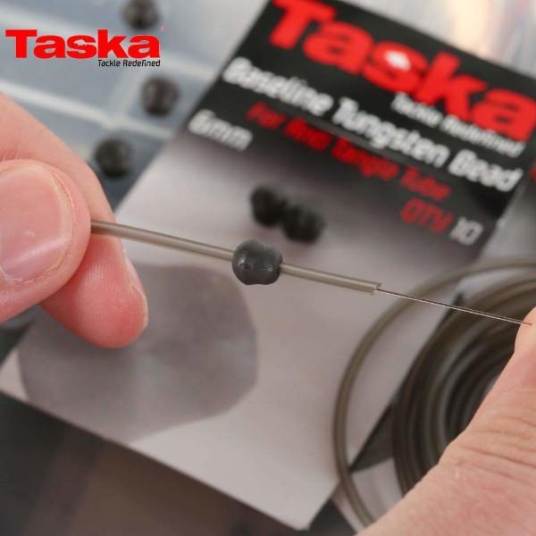 Taska Tungsten Beads for Anti tangle Tube 6 mm