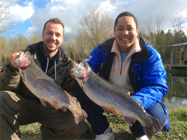 """All inclusive arrangement """"Forel"""" Bij Toms Creek Fishing Adventure"""