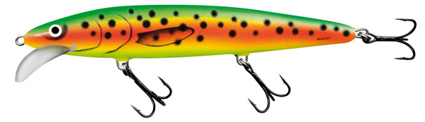 Salmo Whacky 12cm (keuze uit 5 opties) - Spotted Parrot (SPP)