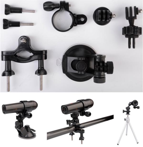 WaterWolf UW1.0 Accessories Pack, ook geschikt voor action camera's!