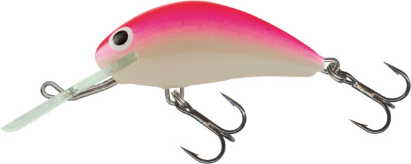 Salmo Hornet 4cm, USA kleuren! (keuze uit 9 opties) - Pink Shiner