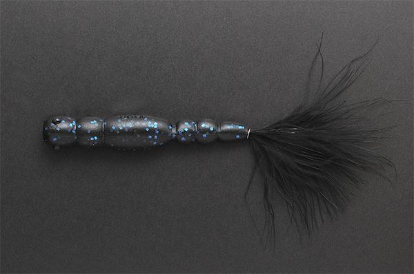 Megabass Ya-Manba (keuze uit 11 opties) - Black Blue