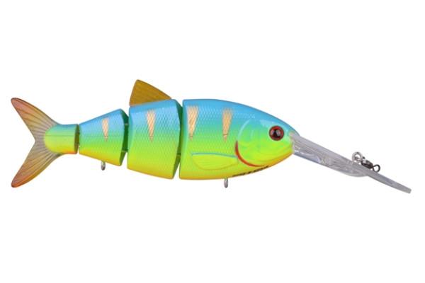 Spro Swimbait BBZ-1 Crank-N-Shad (Keuze uit 10 opties) - Blue Back Chartreuse