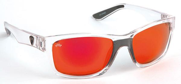 Fox Rage Eyewear (keuze uit 3 opties) - Fox Rage Sunglasses Trans / Mirror Red