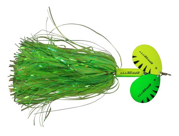 Effzett Pike Rattlin' Spinner (keuze uit 7 opties) - Fluo Yellow/Green