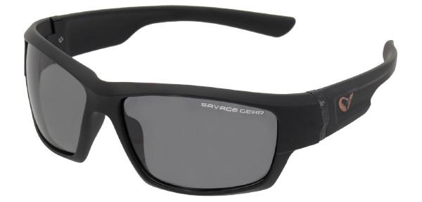 Savage Gear Shades Floating Polarized Sunglasses (Keuze uit 4 opties) - Shades Dark Grey