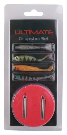 Complete Ultimate Dropshot Kit met softbaits, onderlijnen en loodjes