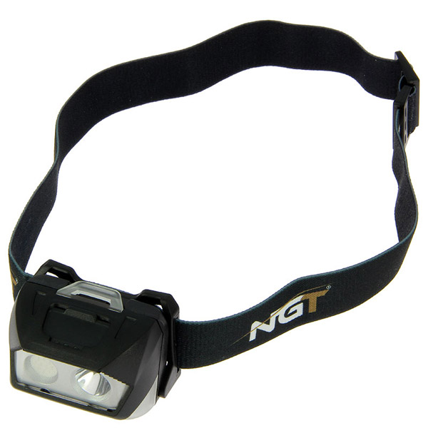 NGT Bivvy Light Large + NGT Dynamic Cree Hoofdlamp - NGT Dynamic Cree Light - USB Rechargable (200 Lumens)