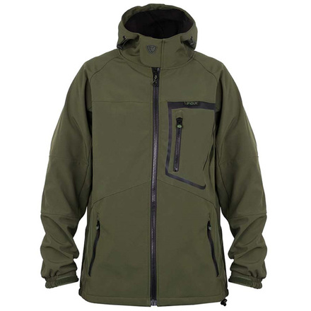 Fox Green & Black Softshell Jacket (beschikbaar in maat M of XXL)