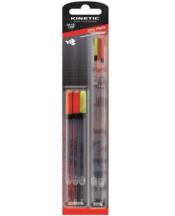 Kinetic Stick Floats, 5 stuks!