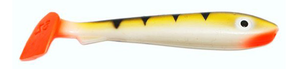 Svartzonker McRubber Bass 8cm, 10 stuks (keuze uit 8 opties) - Proper Perch