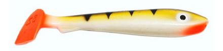 Svartzonker McRubber Bass 8cm, 10 stuks (keuze uit 8 opties)