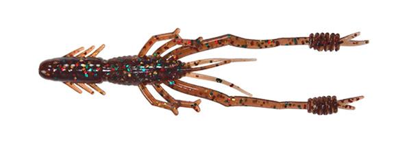"""Reins Ring Shrimp 2"""", 8 stuks (keuze uit 2 kleuren) - #404 - Sculpin"""