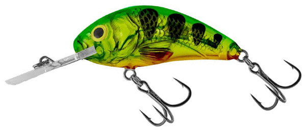 Salmo Rattlin Hornet 4,5cm (keuze uit 4 opties) - Clear Fire Pearch (CFP)
