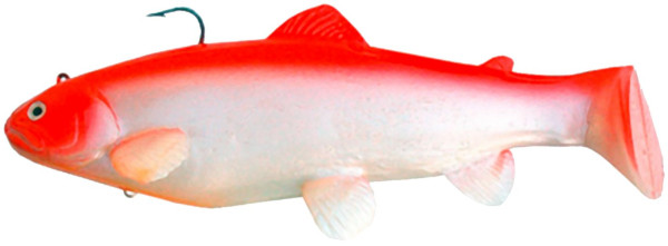 "Castaic Swimbait Trout 8"" (keuze uit 3 opties) - Red Shad"