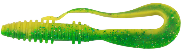 Konger Big Tail Twist 6cm, 10 stuks!(Keuze uit 7 opties) - 015