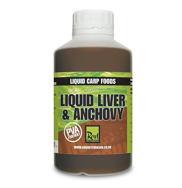 Rod Hutchinson Liquid Carp Foods 500ml (keuze uit 4 smaken)