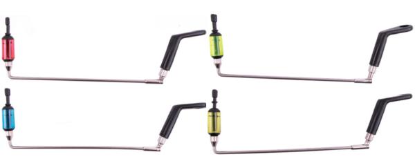 Ron Thompson Rod Pod Lux 4-Rod + Ultimate Fluro Lightweight Swingers  (keuze uit 5 kleuren swingers)