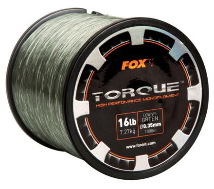 Fox Torque Carp Line Green bulkspoel (keuze uit 5 opties)