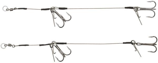 Headbanger Double Stinger met Spikes, 2 stuks (keuze uit 3 opties)