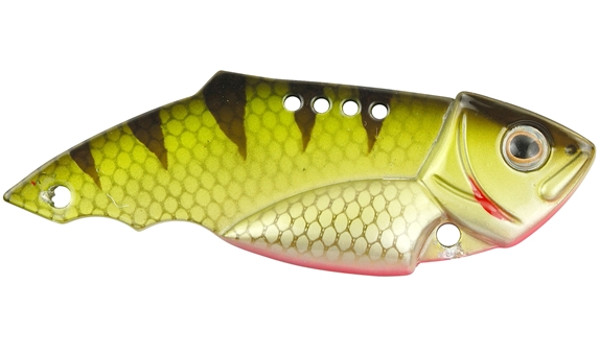 Spro Teppan Vib 21 en 28 gram (keuze uit 20 opties) - Green Perch