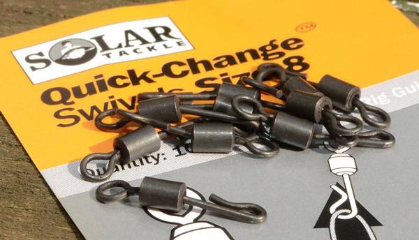 Solar Quick-Change Heli Swivel, 10 stuks!