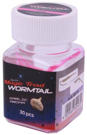 Quantum Magic Trout Worm Tail 45mm, 15 stuks (keuze uit 5 opties)