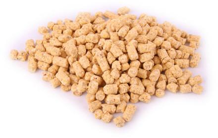 Bulkverpakking 20kg Baby Corn Mais Pellets in 3 of 8mm (keuze uit 6 smaken)