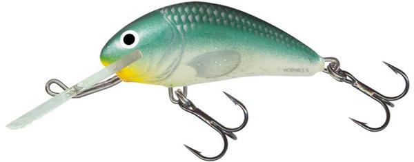 Salmo Hornet 6cm Floating (keuze uit 9 opties) - Green Back Herring (GBH)