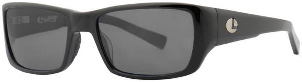 Lenz Optics Kaitum Polarised Sunglasses (keuze uit 4 opties) - Black w/Grey Lens