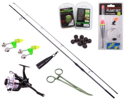 Complete Deadbait Set inclusief veel handige accessoires!