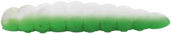 Quantum Magic Trout B-Maggot 2,5cm, 35 stuks (keuze uit 9 opties) - Green/White