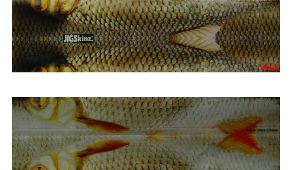 JigSkinz kunstaas cover (keuze uit 6 opties) - Roach