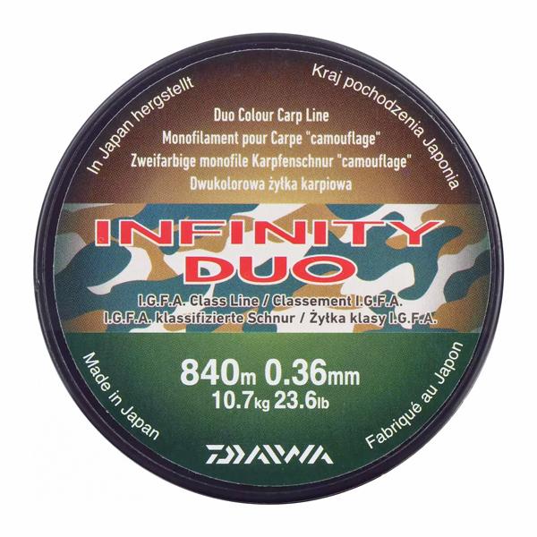 Daiwa Infinity Duo Camo (keuze uit 3 diameters)