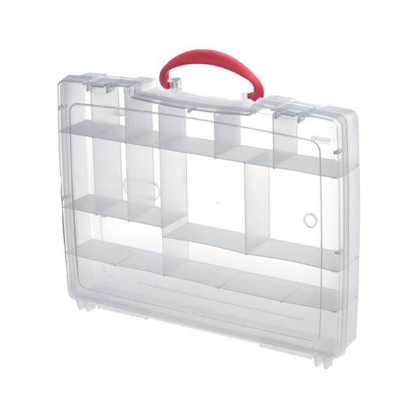 Panaro Attachable Polypropylene Tackle Box (keuze uit 2 opties) - 14 compartimenten