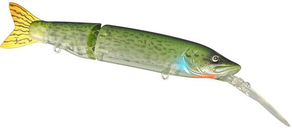 Spro Kaminari Pike LL (keuze uit 10 opties) - Green Ghost