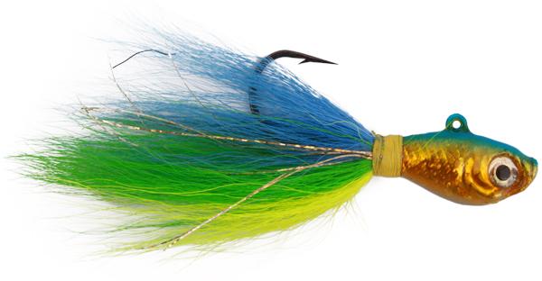 Wahoo Baitfish Bucktail Jig! (Keuze uit 12 opties) - DOH